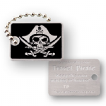 Pirate Micro Travel Tag